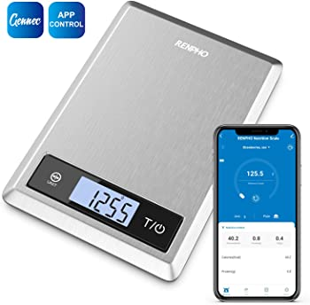 Renpho Smart Nutrition Food Scale with Nutritional Calculator