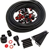 Parkland 23m Micro Irrigation Watering Kit Automatic Garden Plant Greenhouse Water System