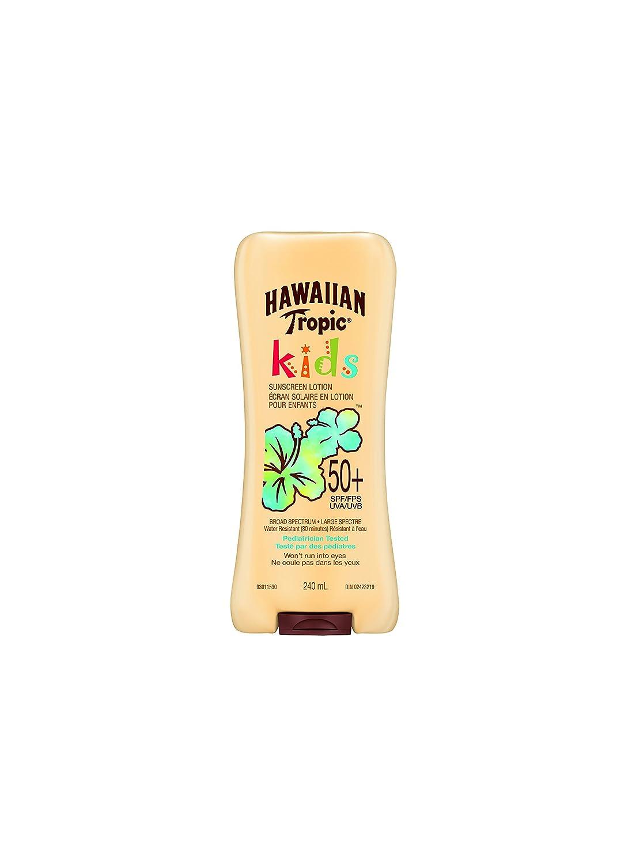 Hawaiian Tropic Kids Sunscreen Lotion, SPF 50+ , 240 ml