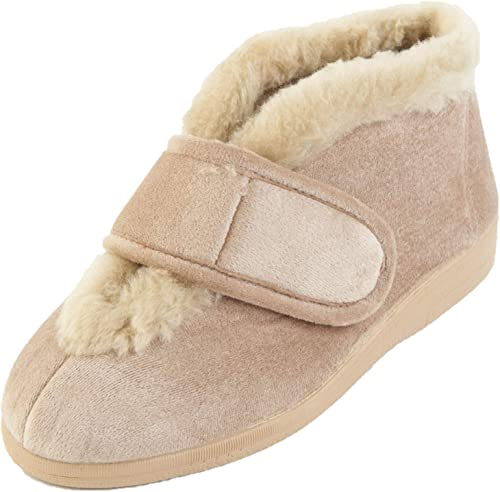 Sandpiper VAL Slippers 6E Wide Fitting