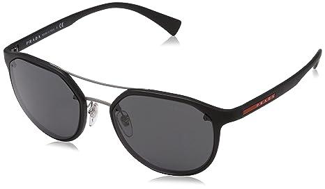 Prada Linea Rossa 0PS 55SS Gafas de sol, Black, 53 para ...