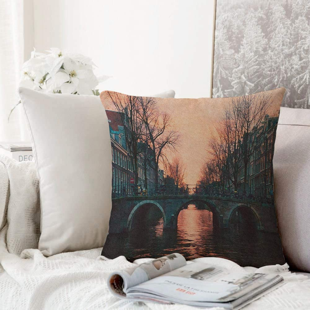 Decorative Pillowcase Throw Pillow Cushion Cover,Wanderlust