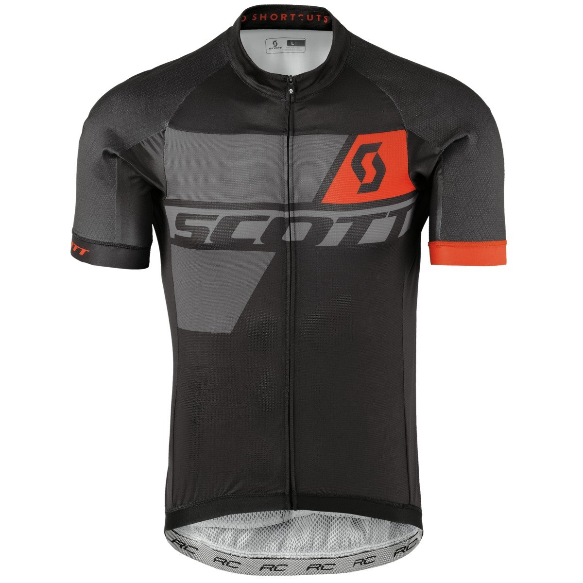 Scott Premium Rc Pro Cycling Jersey Black Grey Orange 2017 1ef26e7ad