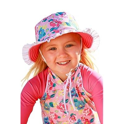 Baby Girls Brim Hat with Frills