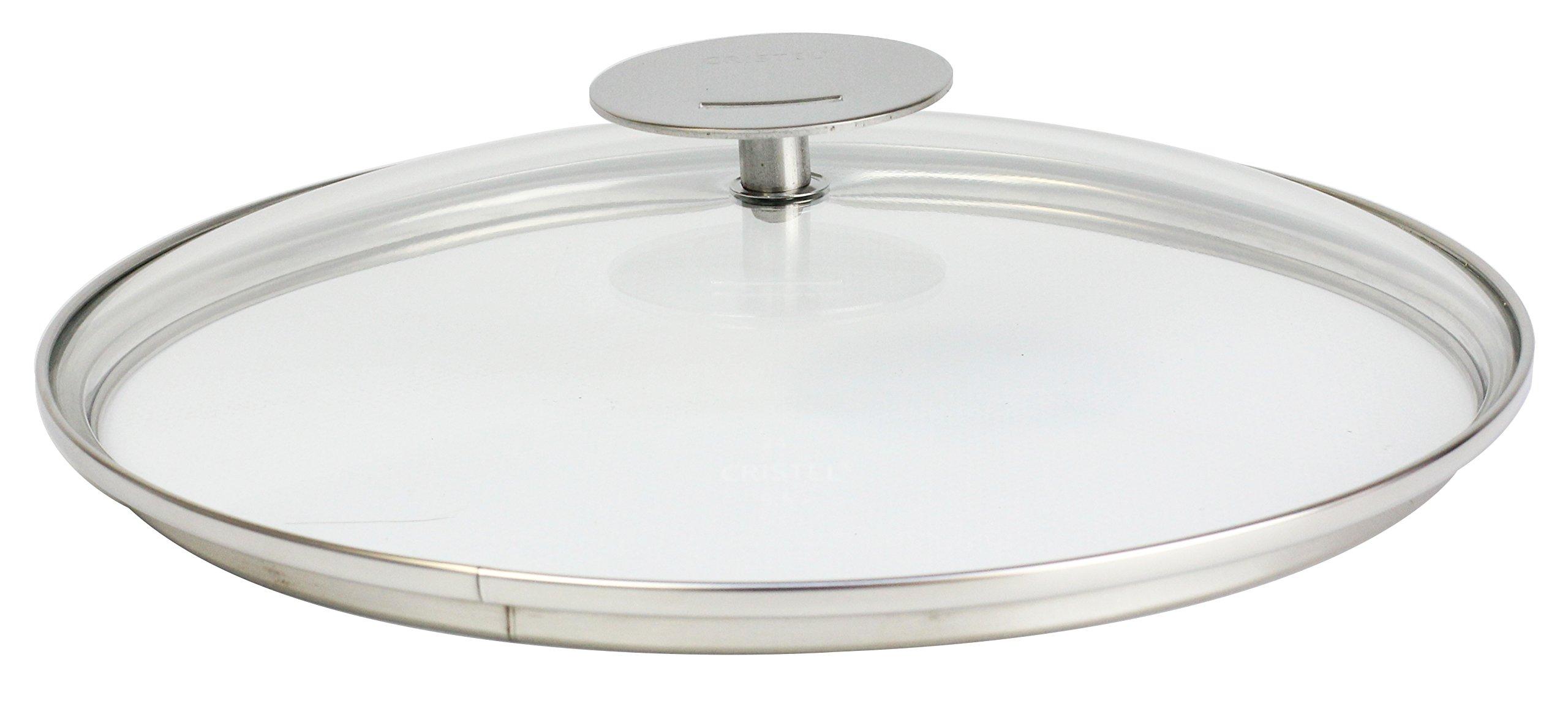 Cristel K20P Domed Glass Lid 8'' Silver