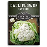 Survival Garden Seeds - Snowball Cauliflower Seed for Planting - Packet with Instructions to Plant and Grow Your Home…