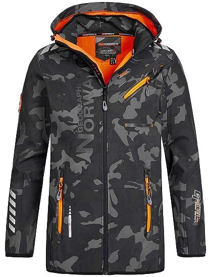 8090cd48d20 Geographical Norway Men's Softshell Outdoor Jacket Rainman? Hood