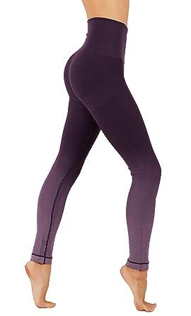ead3eb0865b80 CodeFit Yoga Gym Power Flex Dry-Fit High Compression Pants Workout Women's  Leggings (S