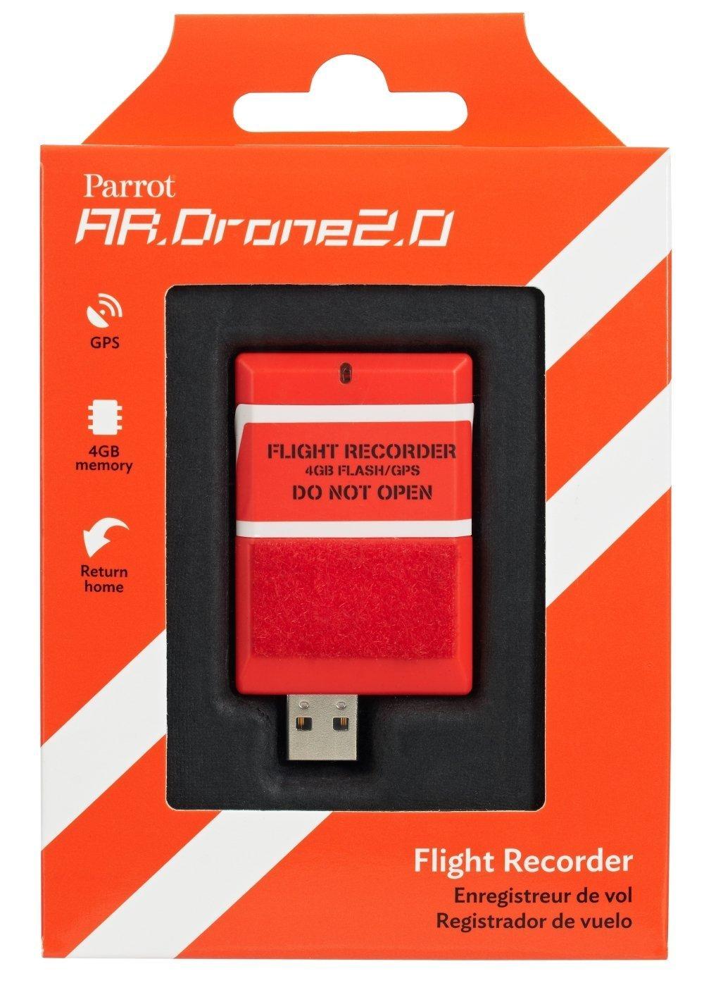 Parrot AR.DRONE 2.0 Flight Recorder: GPS