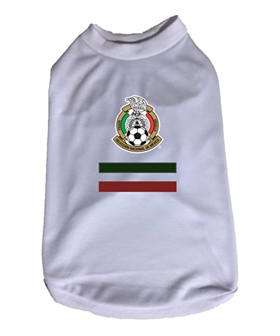 Amazon.com : My Pet Boutique dog soccer jersey Mexico, Great dog jersey, dog shirt (2XL) : Pet Supplies