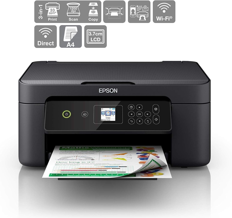 Epson Expresión Home XP-3100 Imprimir/Escáner/Copiadora Wi-Fi de ...