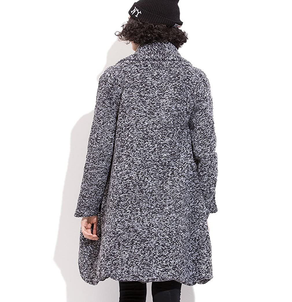MeMoreCool grandes tamaño las mujeres asimétrico cortinas ...
