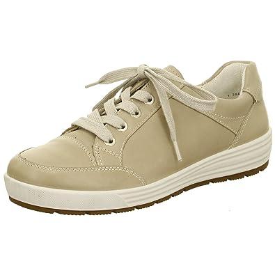 ARA Damen Sneaker beige Leder von Größe 38 bis 42 mit