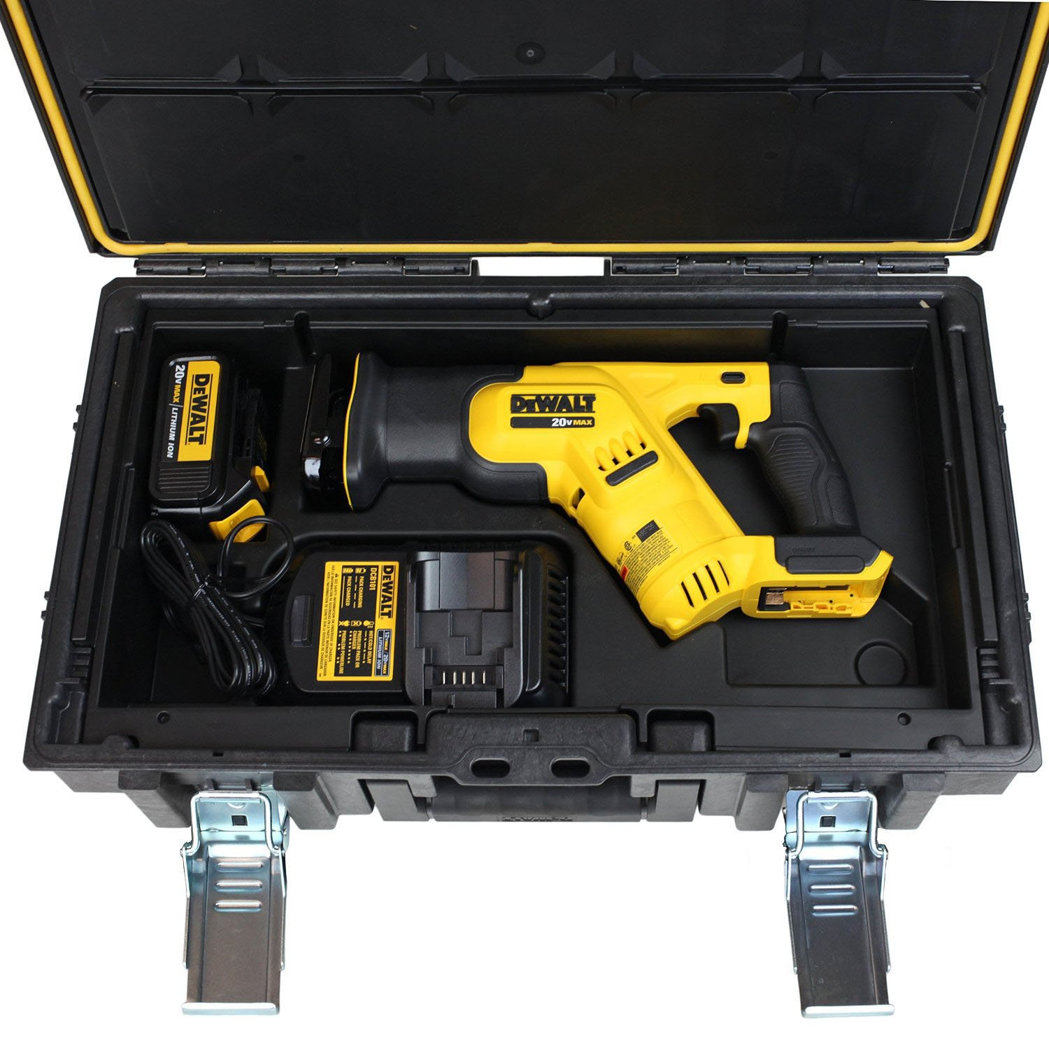 Dewalt dcsts387l1r 20v max cordless lithium ion compact dewalt dcsts387l1r 20v max cordless lithium ion compact reciprocating saw amazon greentooth Choice Image