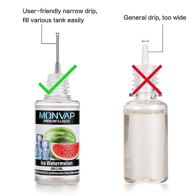 E Liquido Vaper, E-Liquid sin Nicotina 10x10ml, E-Liquido 70VG/30PG, E Liquid set para Cigarrillos Electronicos 0,0mg Nicotina: Amazon.es: Salud y cuidado ...