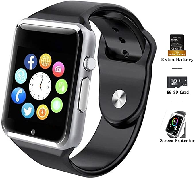 COSROLE Smart Sports Watch, Bluetooth V4.0 Smart Watch Sport Wireless Monitor Wristband with Sleep Monitoring Pedometer Call Message Reminder Anti ...