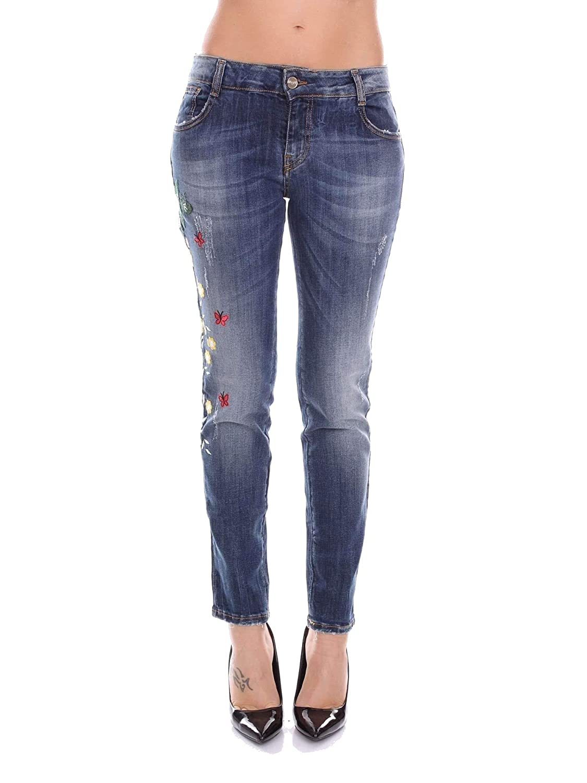 bluegirl Women's 5545170 bluee Cotton Jeans