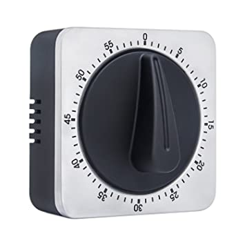 Timer Kitchen Timer 60 Minute Timing With Loud Alarm Sound Magnetic  Countdown Timer Home Baking Cooking