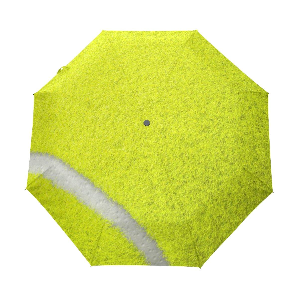 JSTeLテニス防風UV傘Auto Open Close 3折りたたみゴルフStrong Durableコンパクト旅行太陽傘、ポータブル軽量簡単キャリー   B06Y2GFZVL