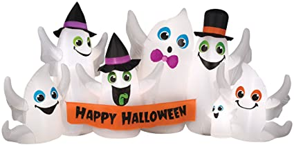 Amazon.com: extragrande 9 foot Blow Up inflable de Halloween ...