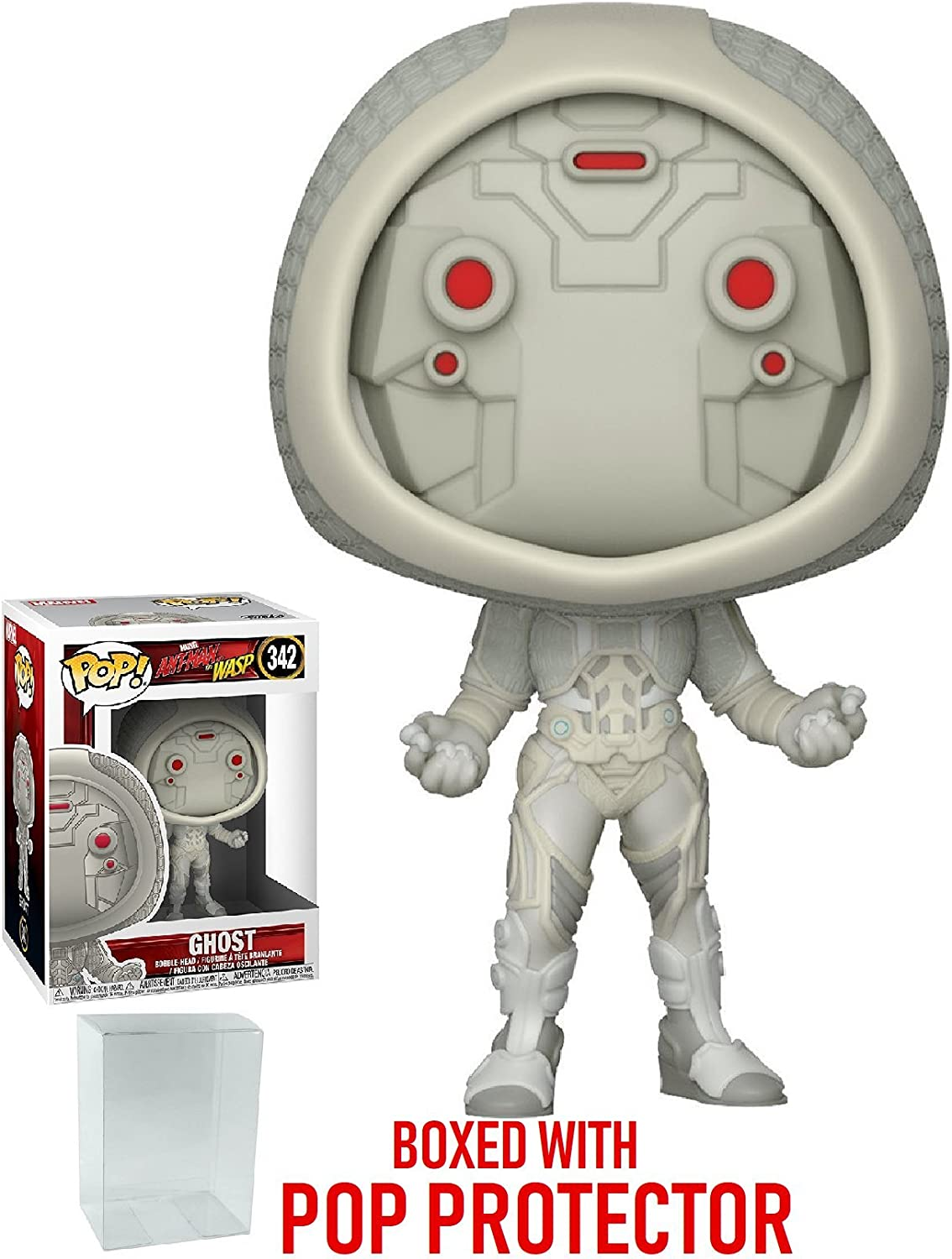 Ant-Man and the Wasp Ghost Vinyl Bobble-Head Item