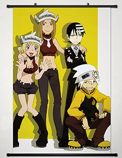 SOUL EATER Death the Kind Anime HD Print Wall Poster Scroll Home Decor Cosplay