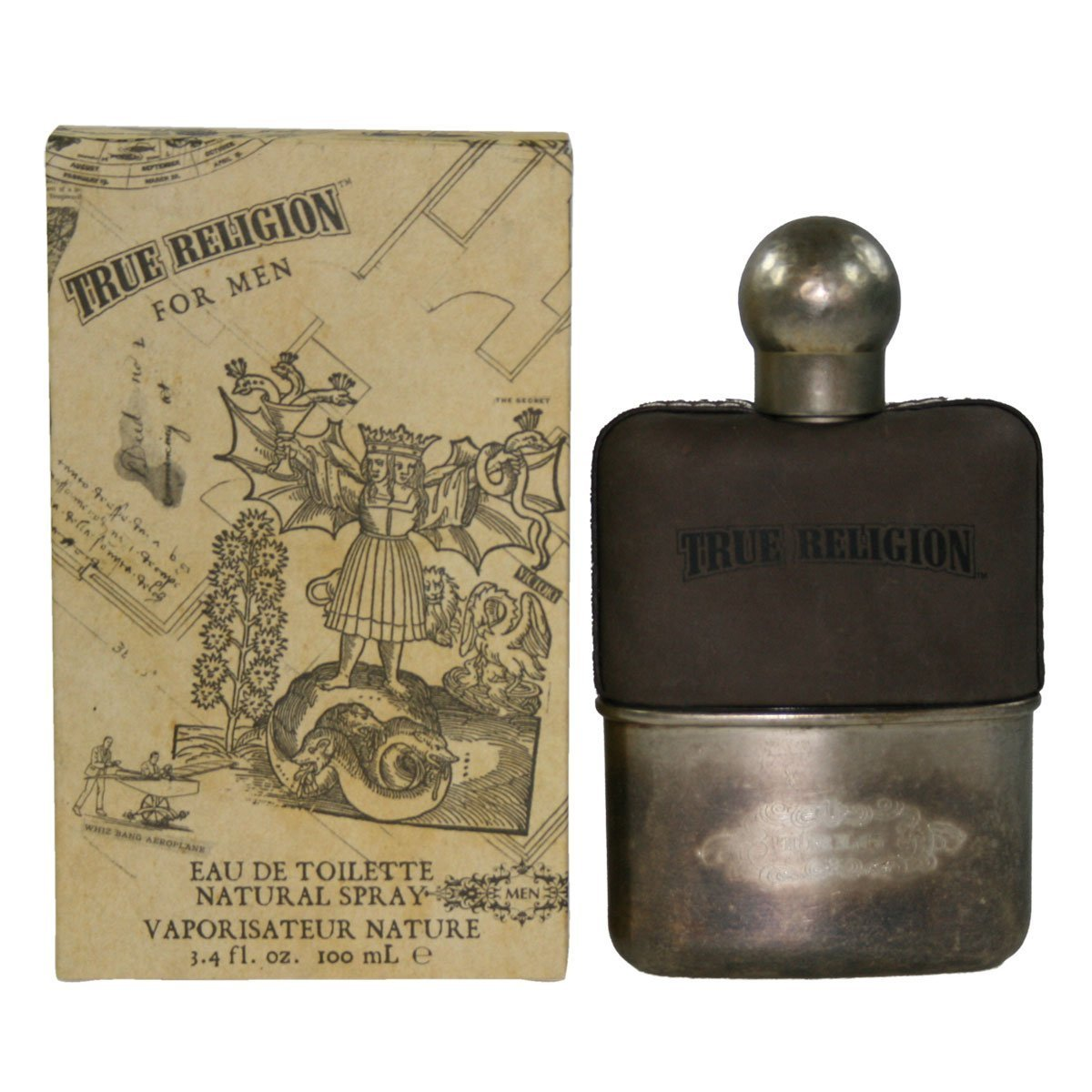 True Religion by True Religion for Men. Eau De Toilette Spray 3.4-Ounce