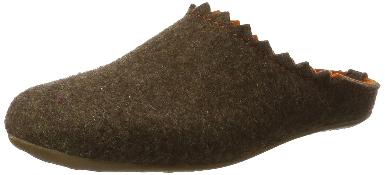 Haflinger Damen Everest Lotta Pantoffeln, Grau (Graphit), 42 EU