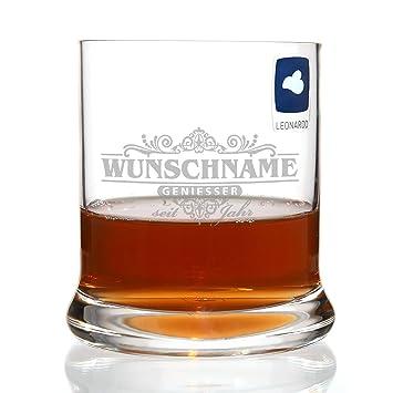 Leonardo Whisky Glas - Motiv: Geniesser limited - mit kostenloser ...