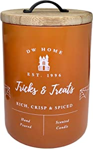 DW Home Tricks and Treats Oak Aged Bourbon Scented Candle