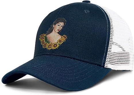 Heart Wolf Ron-Mulata-Logo - Gorra de béisbol de Malla Lavada ...