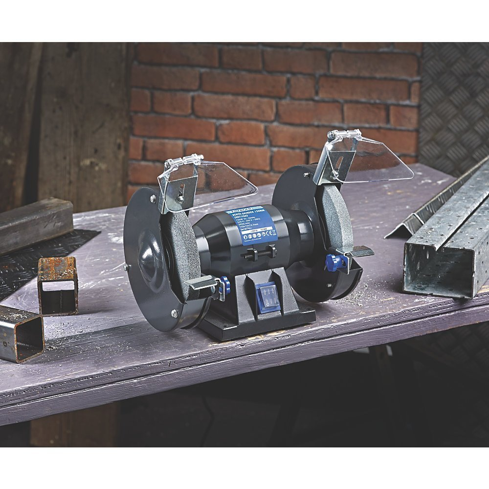 High Quality And Easy To Use ENERGER ENB519GRB 150MM BENCH GRINDER 240V