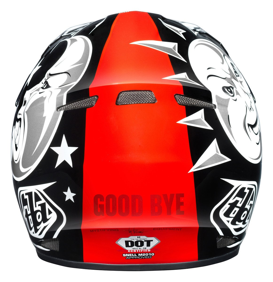 Amazon.com: Troy Lee Designs Ouija Air Off-Road/Dirt Bike Motorcycle Helmet - Black/X-Large: Automotive