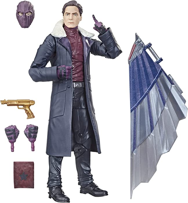 Avengers Hasbro Marvel Legends Series 6-inch Action Figure Toy Baron Zemo, Premium Design and 5 Accessories, for Kids Age 4 and Up