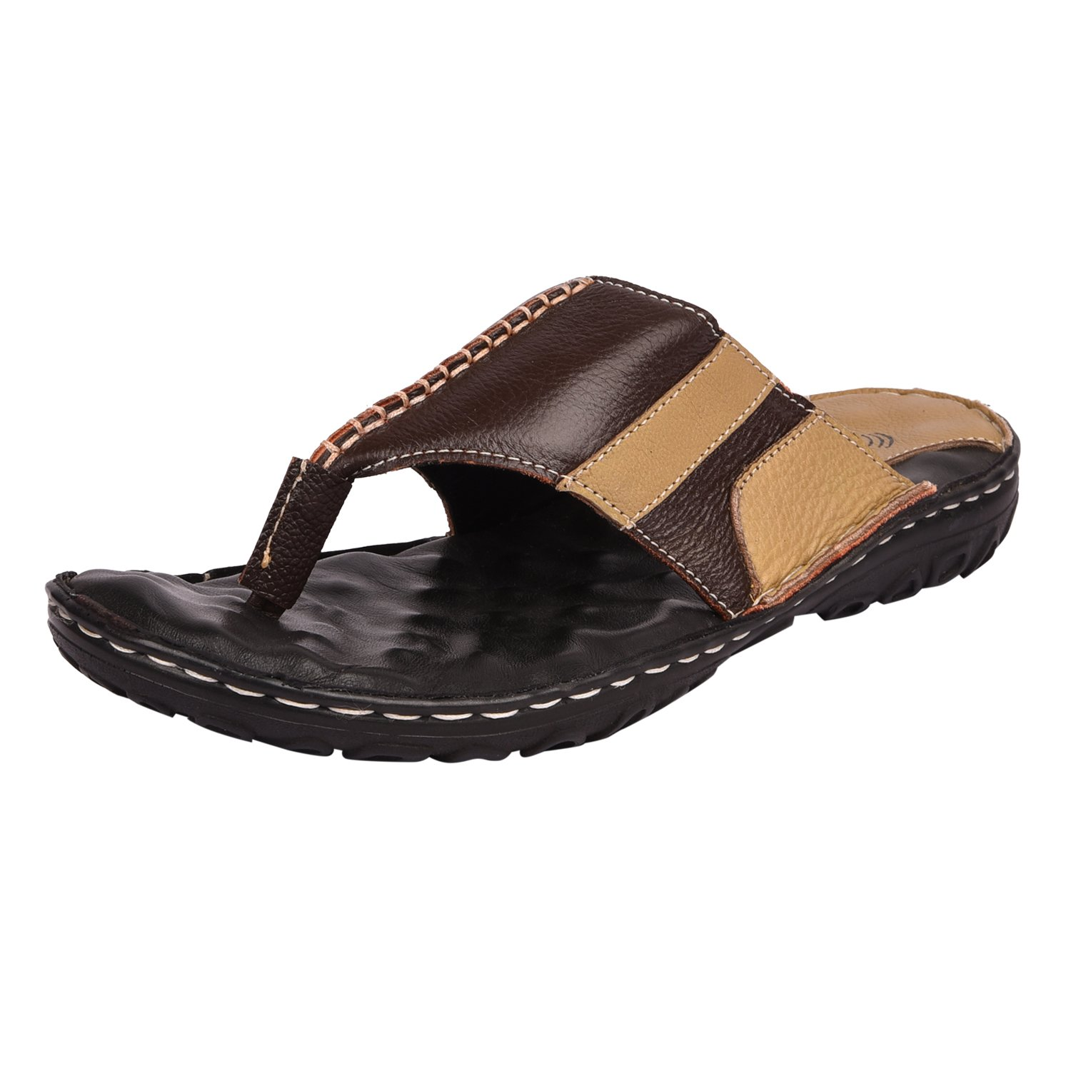 851862af147c e lyte Comfort Chappal Mens Thong Slippers Est 84047- Brown (11)  Buy  Online at Low Prices in India - Amazon.in