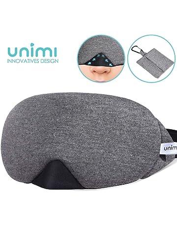 79025a1e6b641a Unimi Baumwolle Schlafmaske Damen und Herren