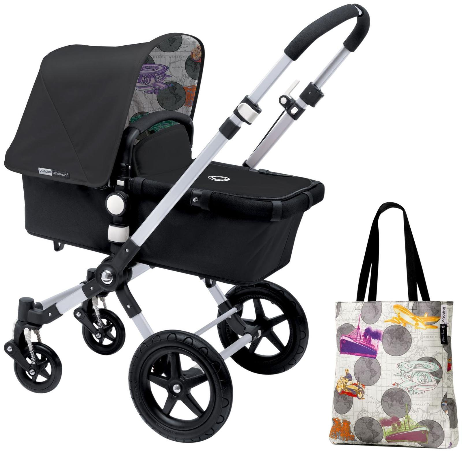 Bugaboo Cameleon3 Accessory Pack - Andy Warhol Dark Grey/Transport (Special Edition)