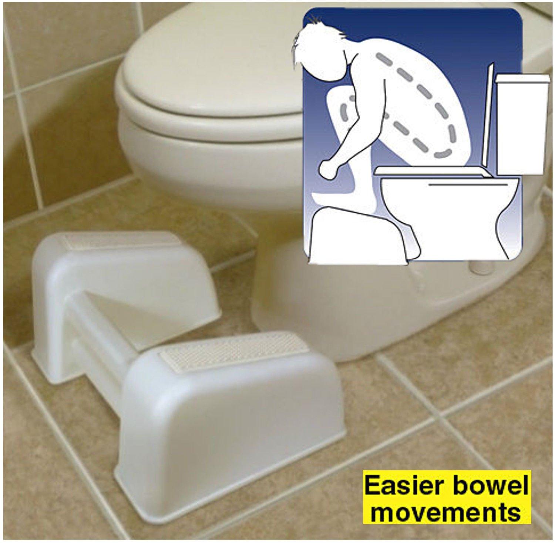 Terrific Comfortable Toilet Seat Raised Foot Rest Easier Bowel Movements Toilet Rest Frankydiablos Diy Chair Ideas Frankydiabloscom