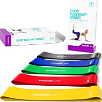 Insonder Resistance Bands - Latex Exercise Loop Bands for Workout and Stretching...