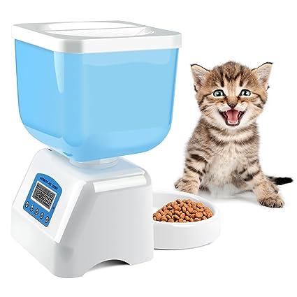 amazon com mospro automatic pet feeder intelligent voice recorder