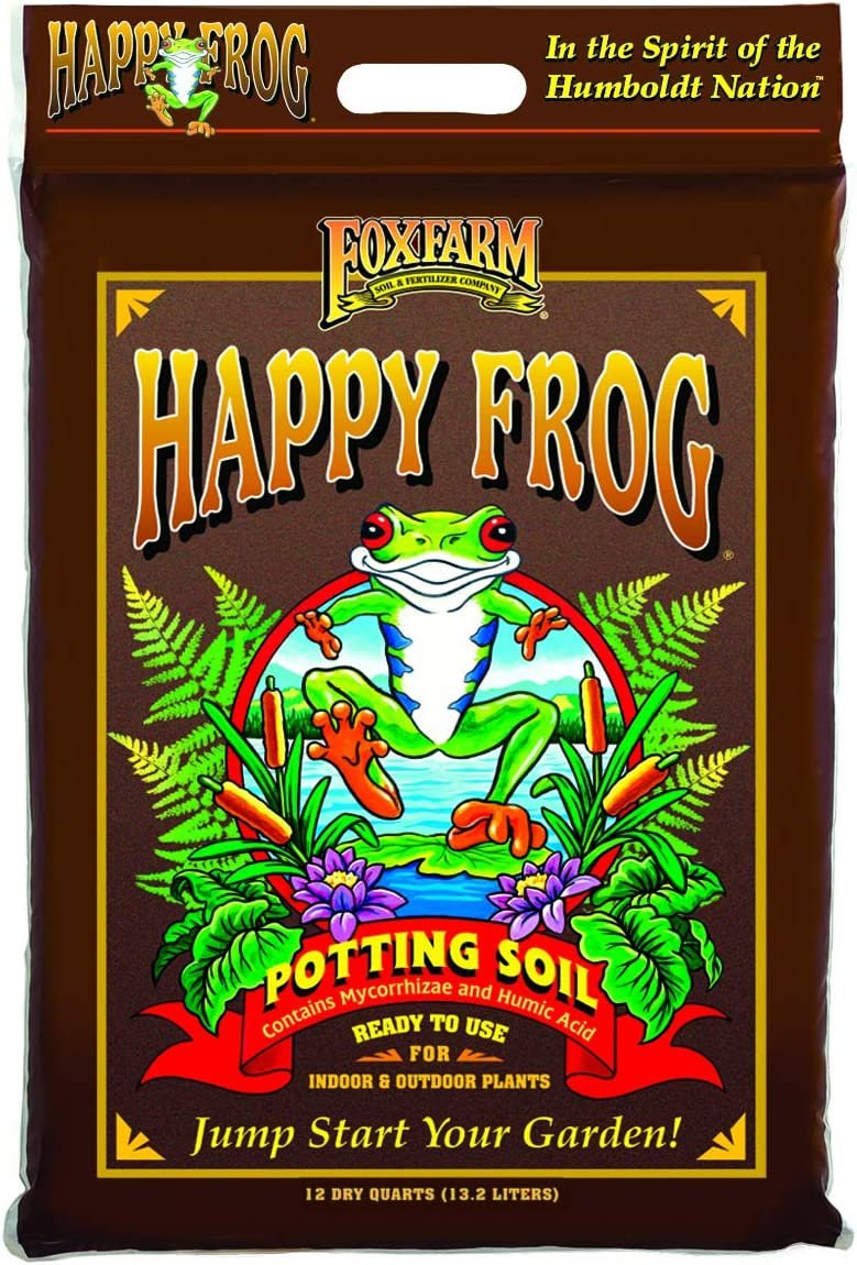 FoxFarm's Happy Frog Nutrient Rich Potting Soil Mix