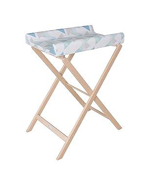 Geuther Table à Langer Pliable Trixi Triangle Naturel Amazonfr