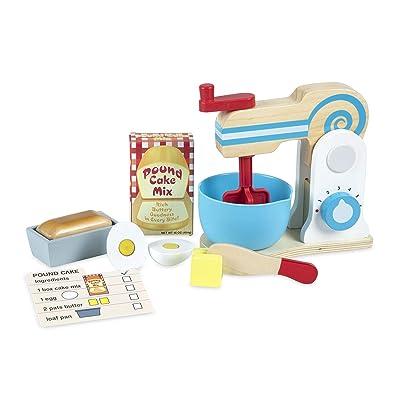 Melissa & Doug Make-A-Cake Mixer Set: Toy: Toys & Games