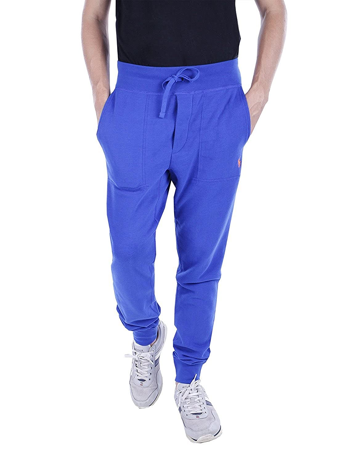 Ralph Lauren Polo Mens Pocket Cotton Pants Royal S