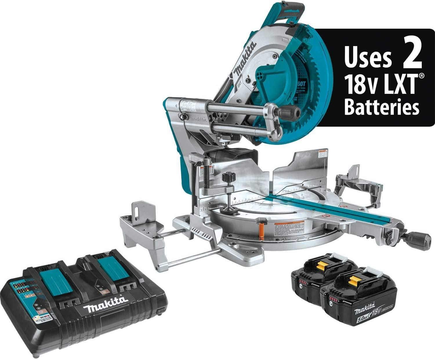 Makita XSL08PT Cordless Compound Miter Saw