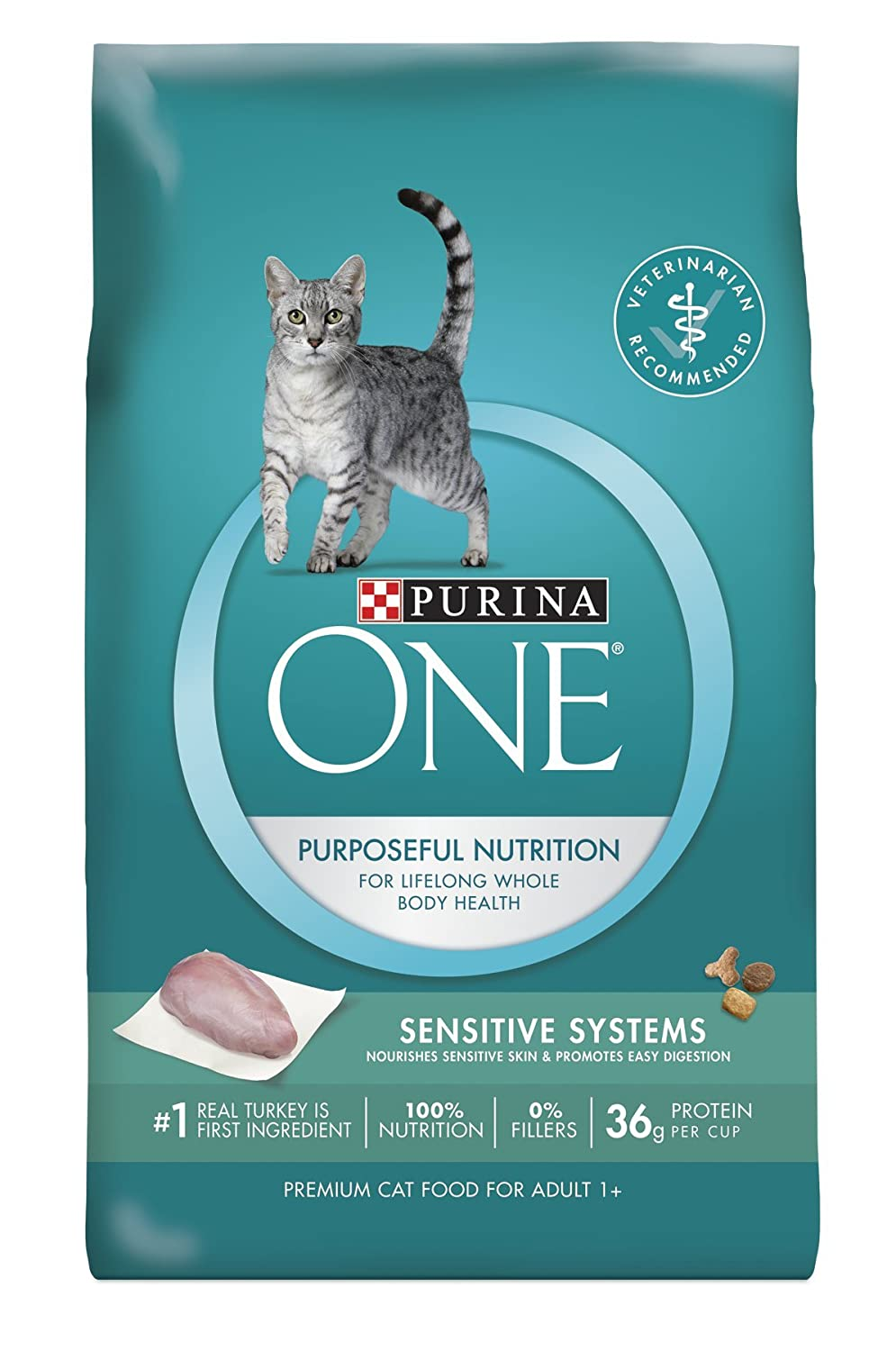 Purina ONE Sensitive Systems Adult Premium Cat Food
