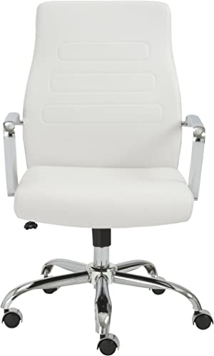 Eur Style Fenella Thick Soft Leatherette Adjustable Office Chair