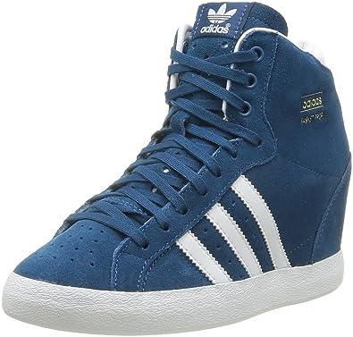 the best attitude 73d91 805e7 adidas Originals Basket Profi Up W, Baskets mode femme - Bleu (Bletri Blanc