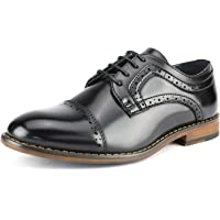 4ae64c670f8f Bruno Marc Boy s Prince-K Classic Oxfords Dress Shoes