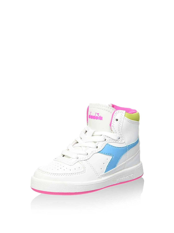 Diadora - Zapatillas de Material Sintético para niño